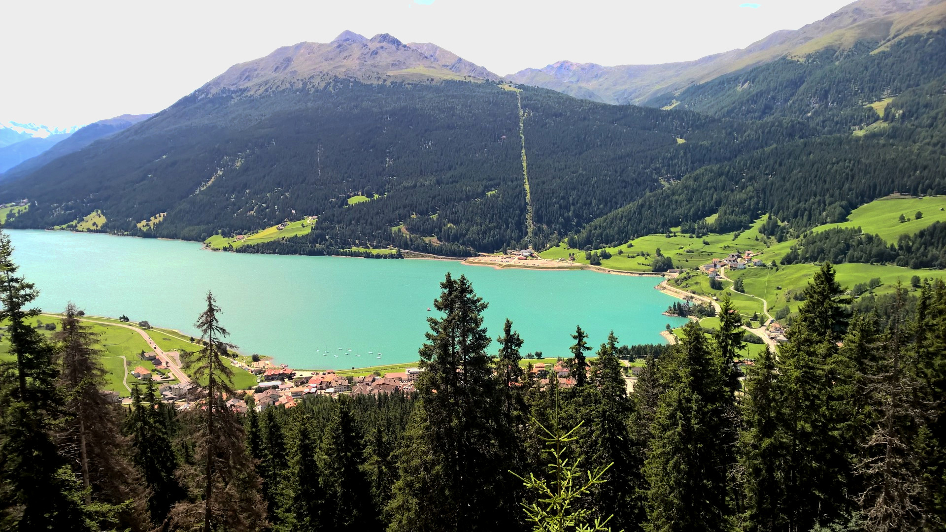 Nauders, 3 Länder Enduro Trails, Mountainbiken, Reschenpass, Basecamp, Tirol, Freeride