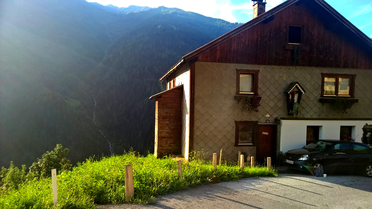 Sunset, Mountain Lodge, Alp Hostel, Basecamp, Freeride Tirol