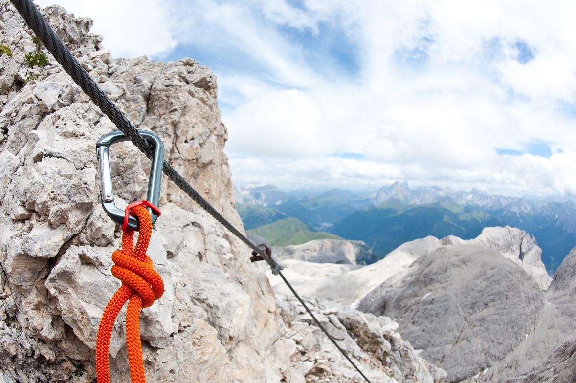Klettersteige Galtür mit dem Basecamp